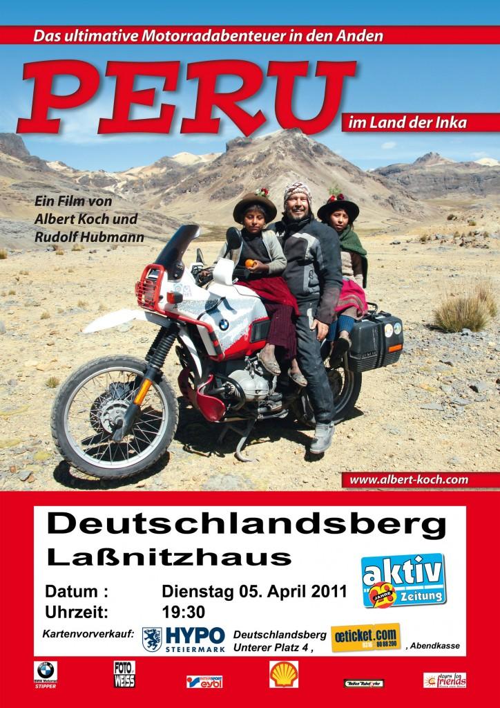 Flyer Peru-Film Deutschlandsberg